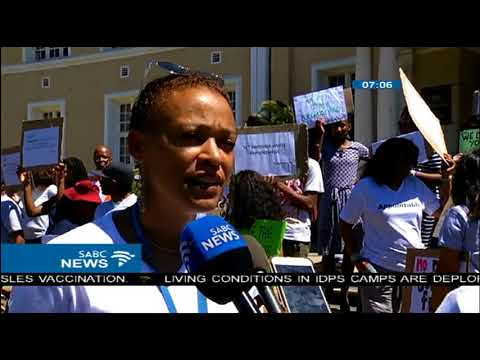 UCT's BAC  staged a picket against alleged racism