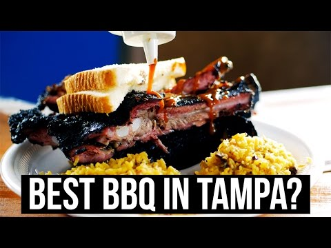 BEST BARBECUE IN TAMPA❓