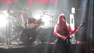 INQUISITION - en Ave Satanas! (Acheron - Inquistion - Mystifier en Chile)