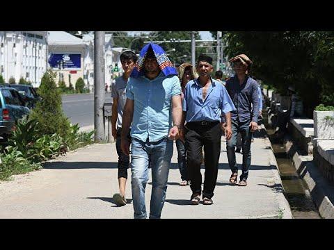 Аномальная жара в Таджикистане и Кыргызстане. Погода в СНГ