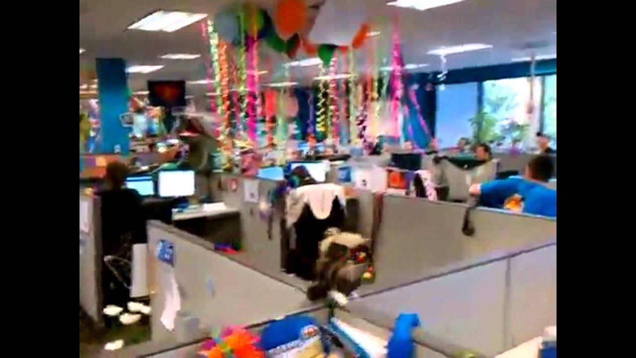 Office Prank Birthday Surprise Adr Youtube