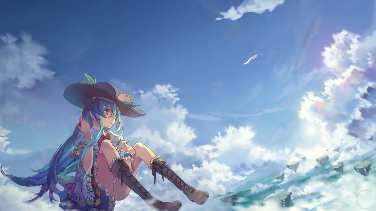 Tenshi Hinanawi 比那名居天子 Touhou Live Animated Wallpaper