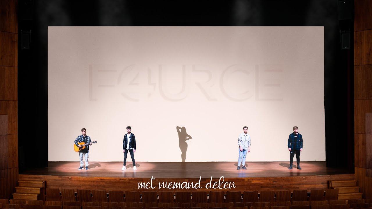 FOURCE  MET NIEMAND DELEN officile videoclip