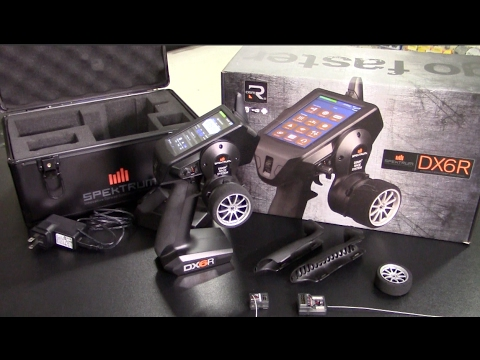 SPECTRUM DX6R - Android-Powered Radio System with Wifi and Bluetooth