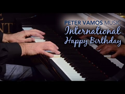 International Happy Birthday Song - Piano Music Medley