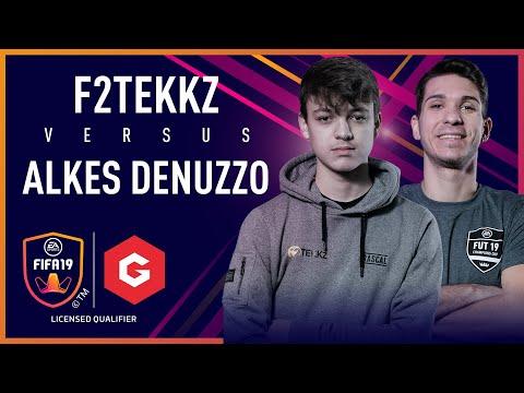 F2Tekkz vs Fabio Denuzzo - Gfinity FIFA Series February LQE thumbnail
