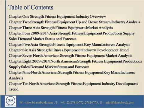 Global Strength Fitness Equipment Industry 2014 Market Research