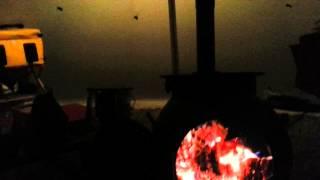 Ozpig燃焼中