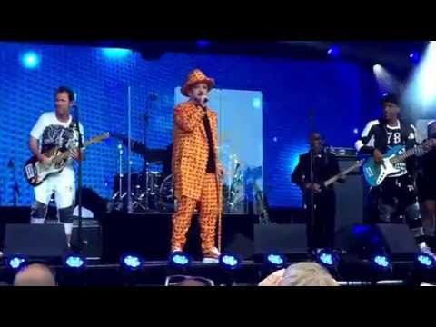 Culture Club - Karma Chameleon.. Jimmy Kimmel Live, Los Angeles 6/28/2016