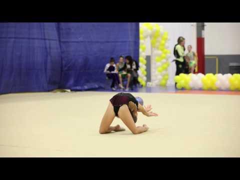 Gymnastics competition 2017 ball