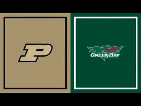 Highlights: Haarms Tallies 7 Blocks in Opening Win | Green Bay at Purdue | Nov. 6, 2019