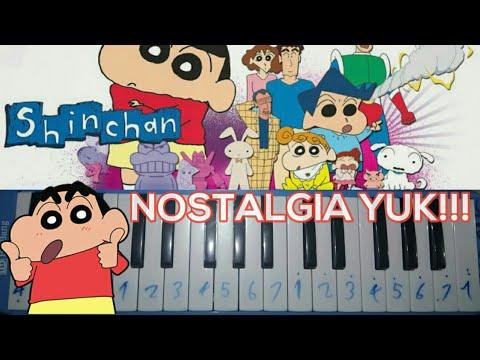 OST. Crayon Shinchan (Cover Pianika) by - Rifki ANS