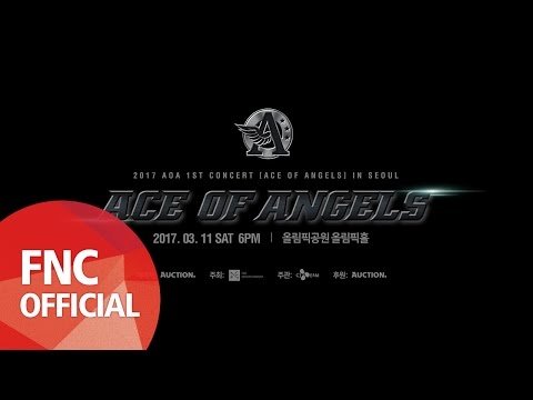 2017 AOA 1ST CONCERT [ACE OF ANGELS] IN SEOUL SPOT