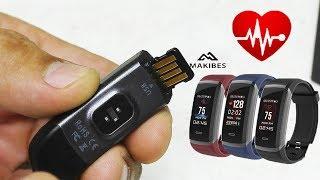 makibes HR3. Достойный Конкурент Xiaomi Mi Band 2