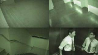 ghost caught on tape in elevator