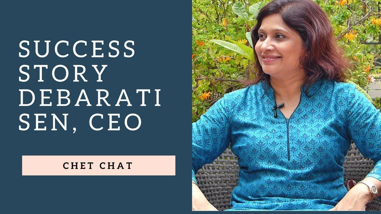 Success Story of a Woman CEO I Debarati Sen CEO 3M - YouTube