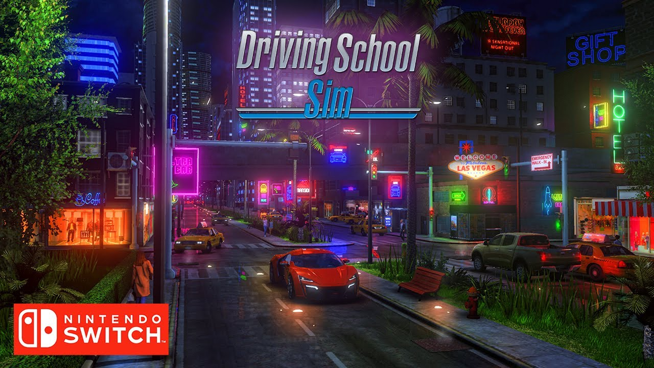 Driving School Sim - Nintendo Switch - Trailer