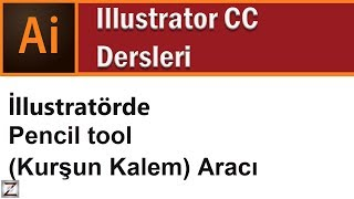 How to use pencil tool in illustrator