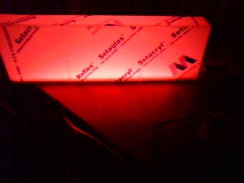 Mensole luminose led rgb youtube for Mensole luminose