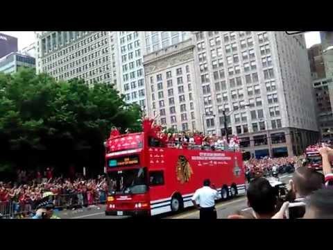 2015 Chicago Blackhawks Parade  Monroe & Michigan