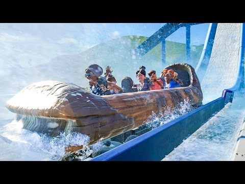 Wild Log Flume Ride :: Planet Coaster Gameplay