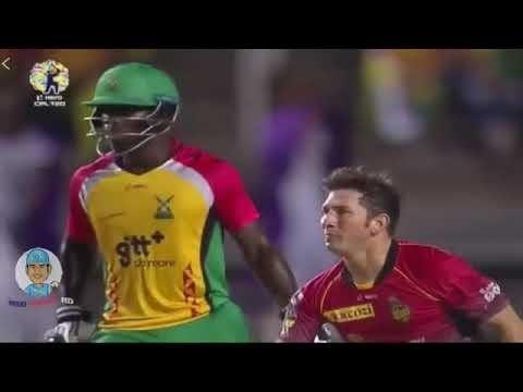 Yasir Shah 2 Outstanding Flying Catches In CPL Final 2017