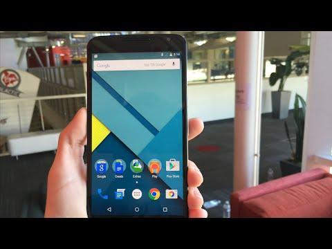 Nexus 6 Hands On