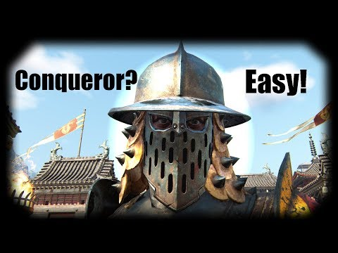 For Honor: Advanced Conqueror Guide: From basics to mastery