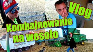 Kombajnowanie z Grzegorzem_Vlog FF- Całe zboże