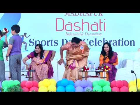 Meridian School Madhapur  Sports Day Celebrations 2016 - 2017 (DASHATI)  Part - 1