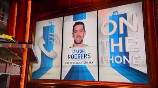 Green Bay Packers QB Aaron Rodgers Is a Big Fan of Clemson QB Deshaun Watson - 1/10/17