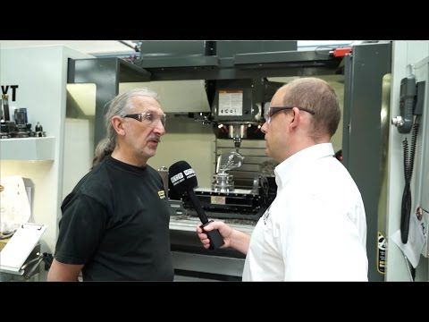 Enerpac invest in a new Haas 5 axis machining centre