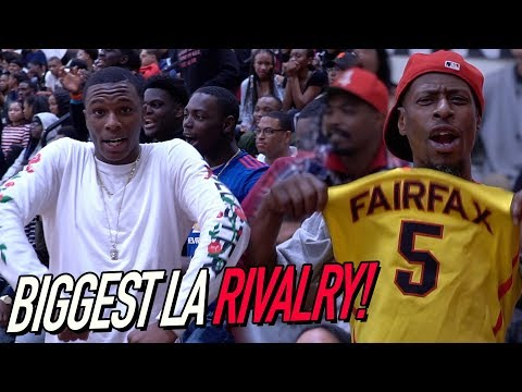 Los Angeles' BIGGEST RIVALRY Had Crowd ROASTING PLAYERS! Fairfax VS Westchester FULL ACCESS
