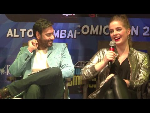 Shivaay Actress Erika Kraar Talking In Hindi