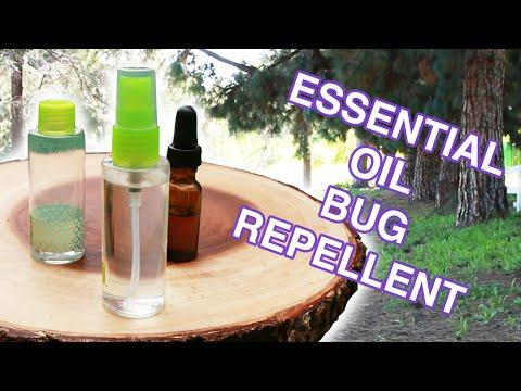 Essential Oil Bug Repellent
