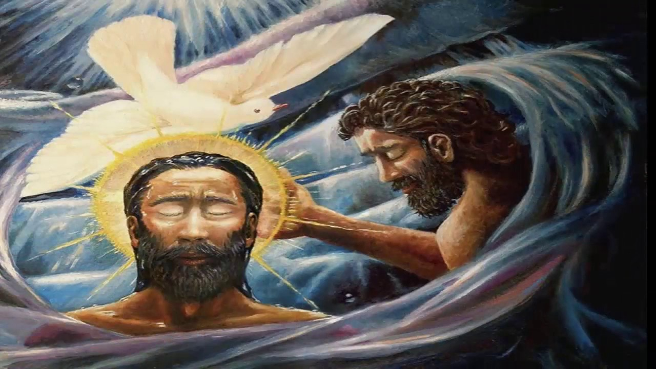 Image result for black christ baptism image