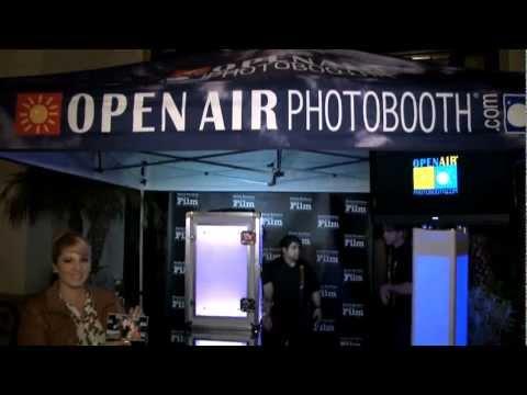 Open Air Photobooth - LED Case Upgrade - Santa Barbara International Film Festival 2013