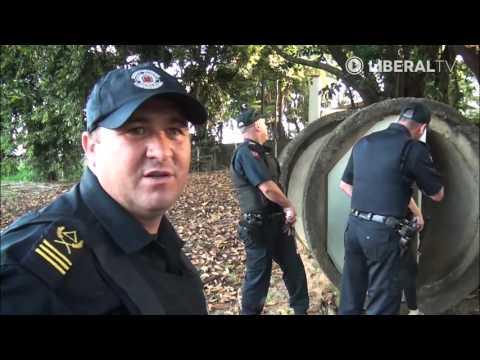 Repórter participa de treinamento da Guarda Municipal de America (GAMA)