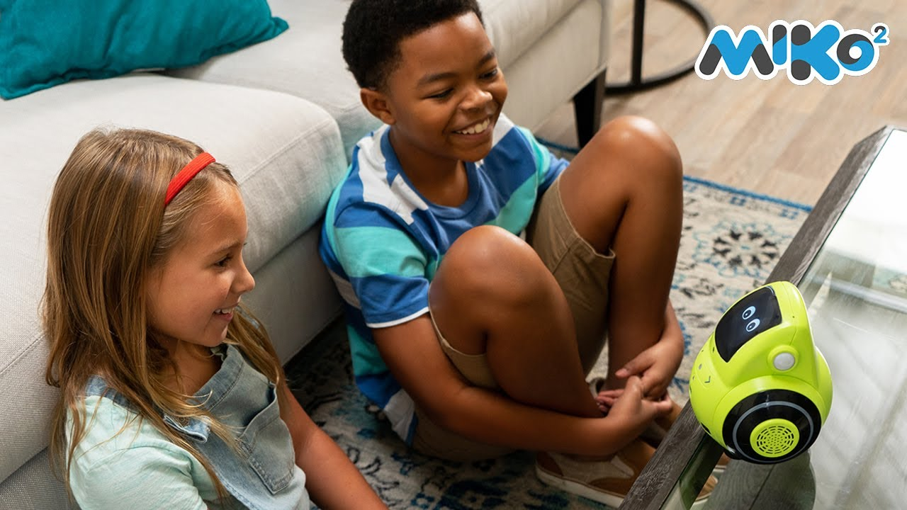 Miko 2 - The Only Robot that Helps Your Child Learn Through Conversation and Play.