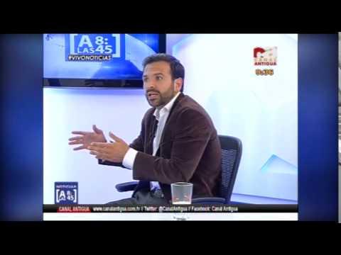 Ver Video de Luis Enrique A las 8:45 - Entrevista completa con Enrique Cruz, candidato a la acaldía capitalina