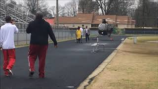 Nick Saban's helicopter recruiting
