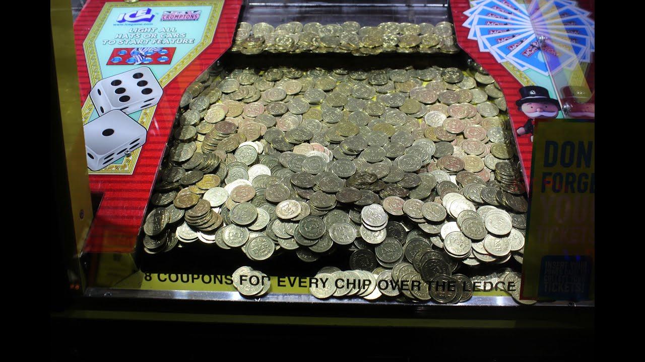 So Many Plinko Coin Pusher Jackpot Wins! | JOYSTICK