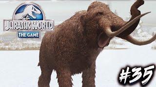 ¡¡EL GRAN MAMUT LANUDO!! | Jurassic World The Game #35 | PlayiNkZ