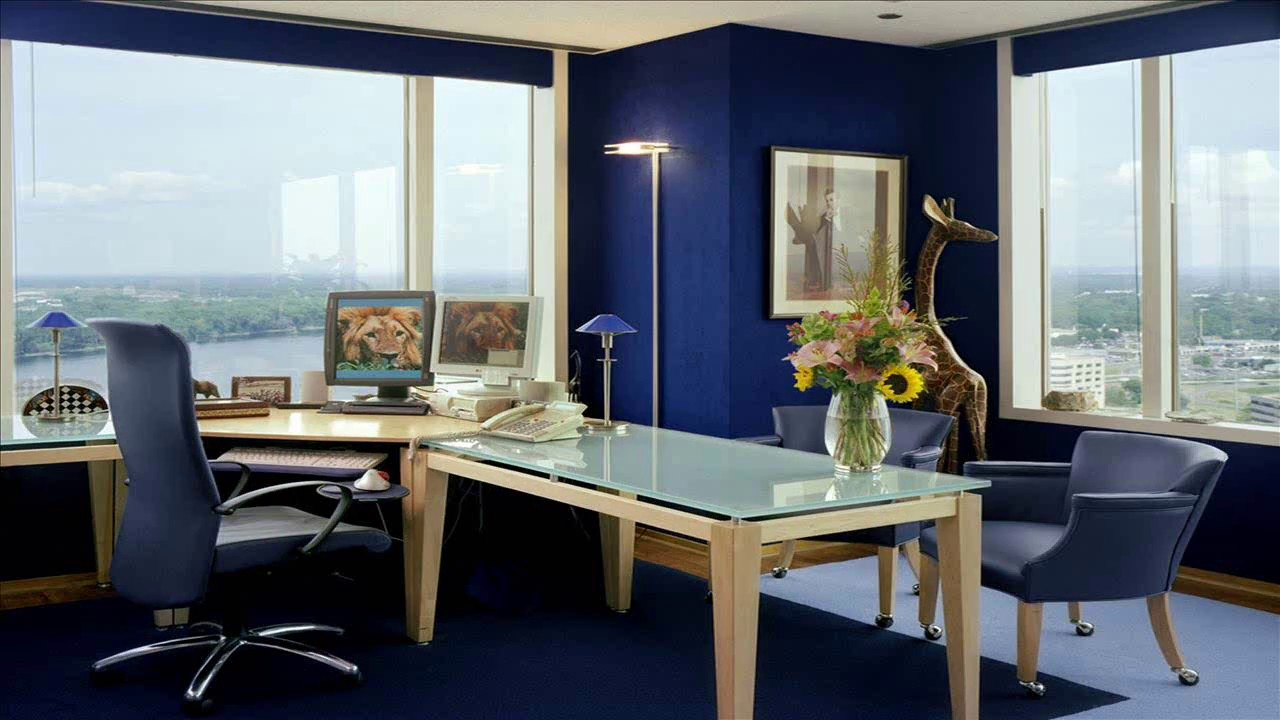design home office space online youtube