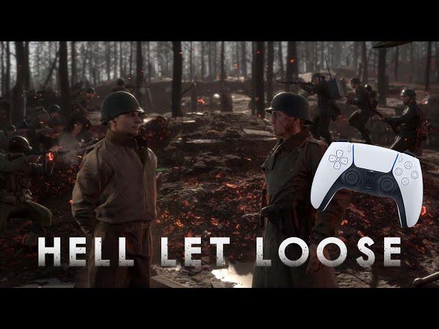 Hell Let Loose  PS5 Gameplay Blowing up tanks n trucks