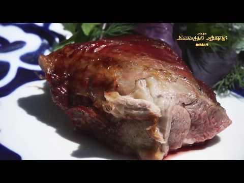 Барашек на гриле, Ресторан узбекской кухни Восточный Квартал г.Сочи