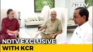 Prannoy Roy Speaks To KCR On Role Of Regional Parties In Polls