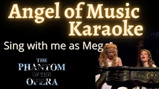 Video Angel of Music Karaoke (Christine only) Sing with me download MP3, 3GP, MP4, WEBM, AVI, FLV Mei 2018