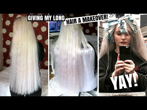A MUCH NEEDED HAIR MAKEOVER