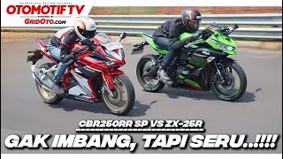 Komparasi Ninja ZX-25R vs CBR250RR SP, Masing-masing Punya Kelebihan | Otomotif TV